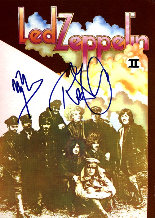 Led Zeppelin Ii Album Cover Copy of 'led zeppelin ii'